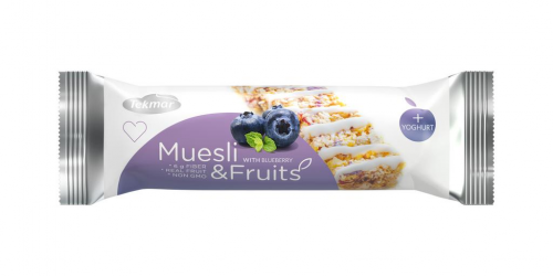 Muesli & Fruits čučoriedka